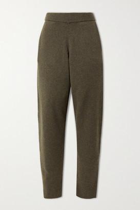 Joseph Wool Track Pants - Army green