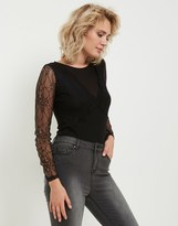 Morgan Lace Sleeve Blouse