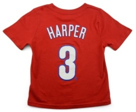 Nike Philadelphia Phillies Bryce Harper Toddler Name and Number Player T-Shirt