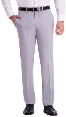 "Haggar Gabardine 4-Way Stretch Slim Fit Suit Separate Pants - 30-34"" Inseam"