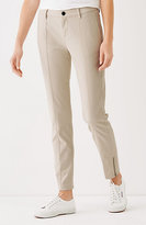 J. Jill Brushed-Twill Slim Ankle Pants