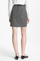 Nordstrom Miss Wu Check Jacquard Pencil Skirt Exclusive)
