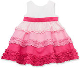 Rare Editions Baby Dress, Baby Girls Color-Blocked Dress