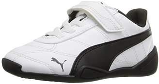 Puma Boys' Tune CAT 3 V INF Sneaker White Black