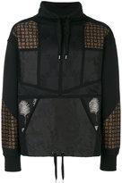 Alexander McQueen multi print sweatshirt - men - Silk/Cotton/Viscose - S
