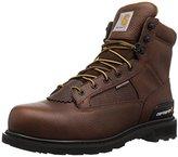 """Carhartt Men's Cmw6285 6"""" Lacetotoe Steel Toe Work Boot"""