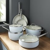 Crate & Barrel GreenPan TM Padova Ceramic Nonstick 10-Piece Fry Pan Set