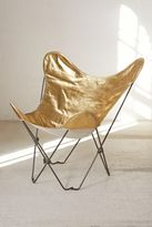 Urban Outfitters Gold Butterfly Chair Cover