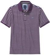 Crew Clothing Stripe Pique Polo
