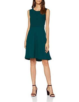 Liu Jo Women's Viral Midi Cocktail Sleeveless Dress,(Manufacturer Size: IT 42)