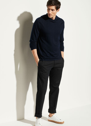 Vince Featherweight Wool Cashmere Pullover Hoodie