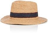 Paul Smith Men's Aran Raffia Fedora Hat