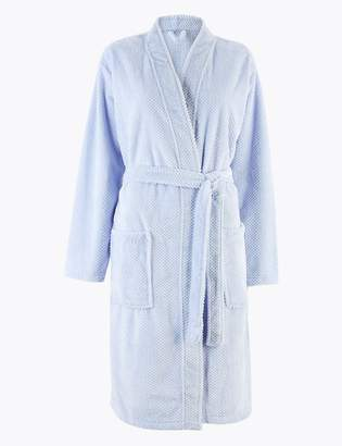 Marks and Spencer Textured Kimono Dressing Gown