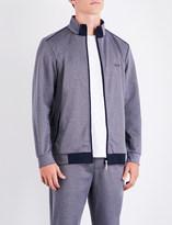 BOSS Tonal jersey jacket