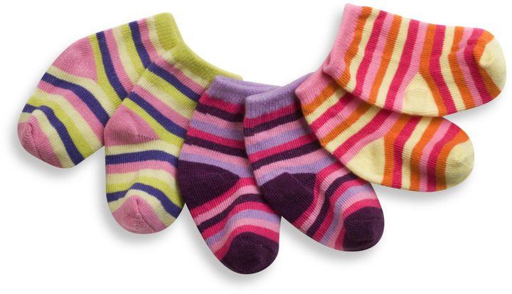 Gibson C.R. iotababy! Sock-a-Teeny Newborn Gift Set in Sugar n' Spice