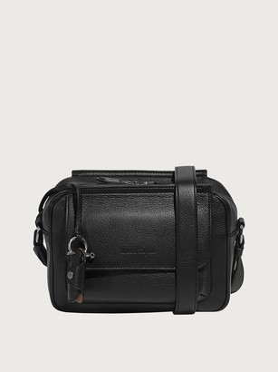 Salvatore Ferragamo Men Messenger bag small Black