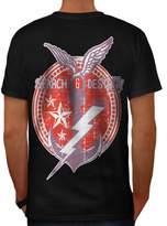 Navy Sea Ship Vintage Men XXXL T-shirt Back | Wellcoda