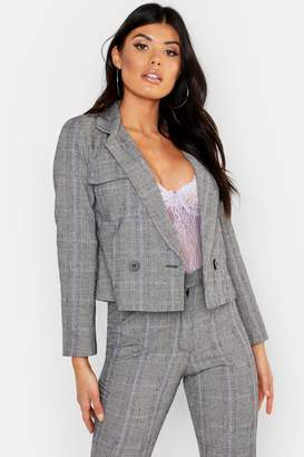 boohoo Cheek Pocket Detail Blazer