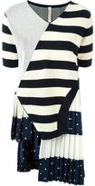 Antonio Marras patch striped knitted top