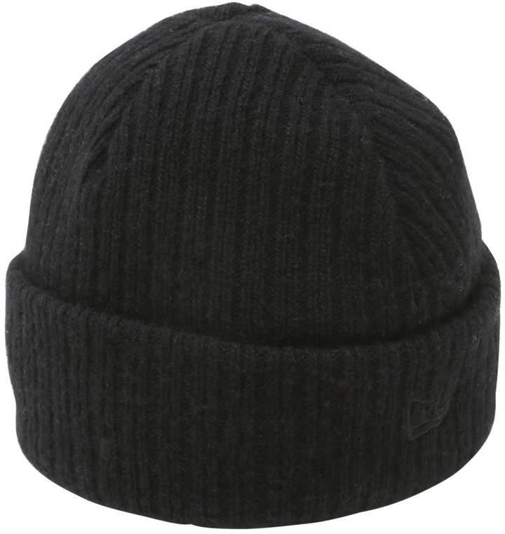 New Era Fisherman Wool Blend Knit Beanie Hat