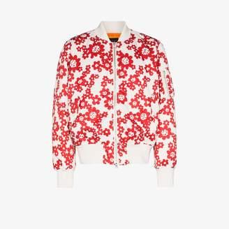 Sophnet. SOPHNET. Betty floral print bomber jacket