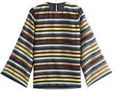 Emilia Wickstead Striped Top with Silk