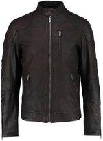 Pepe Jeans Goldborne Leather Jacket 878 Brown