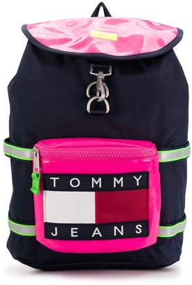Tommy Jeans Heritage colour-block backpack
