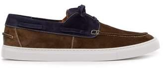 O'Keeffe's O'Keeffe Okeeffe - Stafford Suede Boat Shoes - Mens - Blue Multi