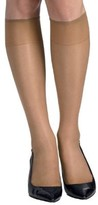 Hanes Womens Silk Reflections Sheer Toe Knee Highs 2-Pack Style-725