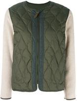 Bellerose reversible padded bomber jacket
