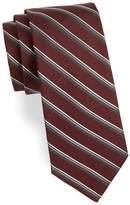 Theory Men's Stripe-Print Silk Tie