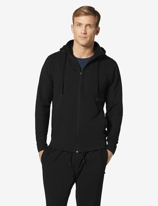 Tommy John French Terry Hoodie Withmock Neck Zip-Up