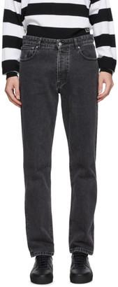 Ami Alexandre Mattiussi Black 5 Pockets Jeans