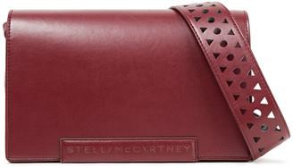 Stella McCartney Laser-cut Faux Leather Shoulder Bag