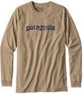 Patagonia Men's Long-Sleeved '73 Text Logo Cotton/Poly Responsibili-TeeTM