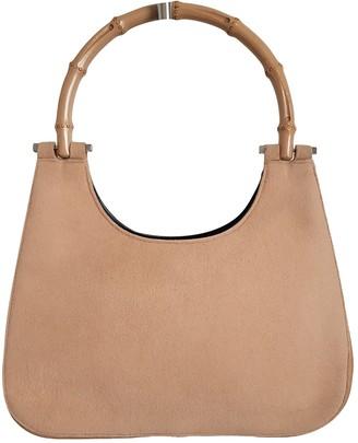 Gucci Bamboo Leather Handbags