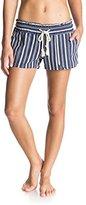 Roxy Juniors Oceanside Short Elastic Waist Non Denim Shorts