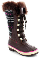 Western Chief Chocolate Speed Lace-Up Knit Boot - Women