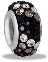 DaVinci Bead Black Multi 3 Row Crystal - Jewelry Bracelet Memories Beads DB61-9-DAV