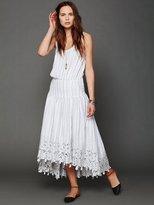 Free People FP New Romantics Pantry Stripe Dress