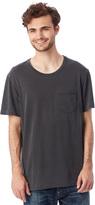 Alternative Brushed & Garment Dyed Pocket Crew T-Shirt