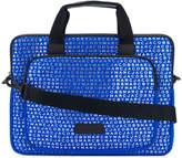 Marc Jacobs monogram print laptop bag