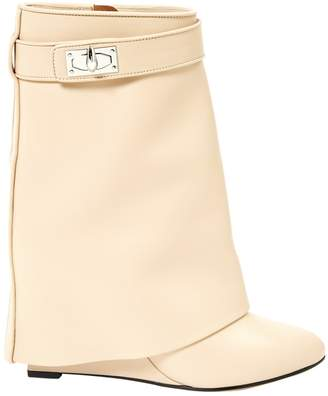 Givenchy Shark Pink Leather Boots