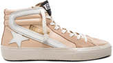 Golden Goose Deluxe Brand Leather Slide Sneakers