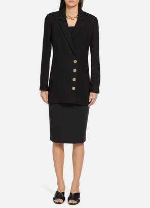 St. John Texture Notch Collar Jacket