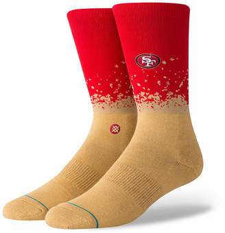 Stance San Francisco 49ers Fade Crew Socks