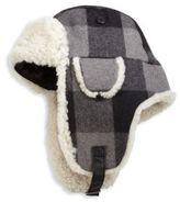 Crown Cap Shearling Trapper Hat