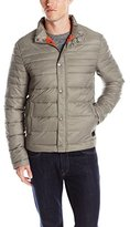 Kenneth Cole New York Men's Front-Zip Puffer Faux Down Jacket