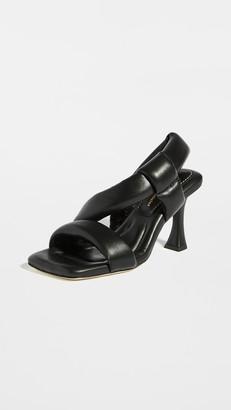 Proenza Schouler Square Toe Thick Strap Sandals